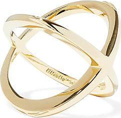 Elizabeth & James Elizabeth And James Woman Gold-tone Ring Gold Size 6 ipOv5c2