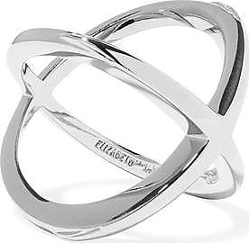 Elizabeth And James Woman Silver-tone Ring Silver Size 8 Elizabeth & James DhJBEBy