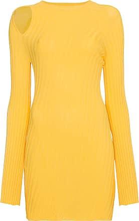 Langer Aquarius Pullover - Gelb & Orange Ellery