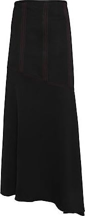 Ellery Woman Asymmetric Crepe Maxi Skirt Black Size 6 Ellery Shop For Sale Online Cut-Price Fast Shipping Best Place To Buy 7WjTX