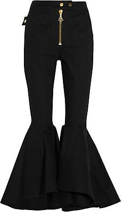 Ellery Woman High-rise Kick-flare Jeans Dark Denim Size 28 Ellery RZQbf7d