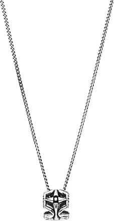 Black Skull Necklace Lucl 65xbg