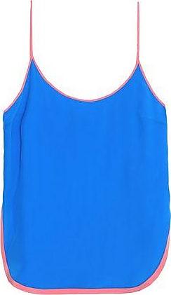 Emilio Pucci Woman Silk Crepe De Chine Camisole Black Size 46 Emilio Pucci Low Shipping Fee Sale Online 3sWaCQEA