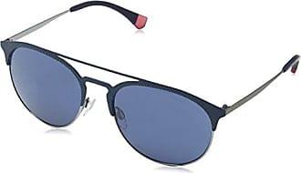 Emporio Armani Unisex - Adulto 4057 Occhiali da sole, Nero (Violet Gradient 54598G), 56