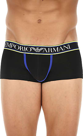 Boxer Briefs for Men, Boxers On Sale, Magnumstyle, Bluette, Cotton, 2017, M (EU 4) Emporio Armani