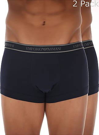 Boxer Briefs for Men, Boxers On Sale in Outlet, Blue Marine, Cotton, 2017, XL (EU 6) Calvin Klein