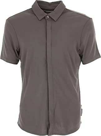 Camiseta de Hombre, Azul Oscuro, Algodon, 2017, S XL XXL XXXL Emporio Armani
