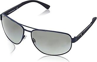 Emporio Armani 0EA4058 547487, Occhiali da Sole Uomo, Blu (Bluette Rubber/Grey), 58