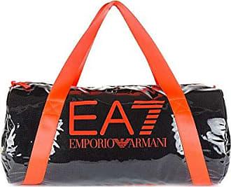 EA7 Sporttasche Damen Fitness Tasche beach mesh Schwarz Emporio Armani 3fuJF2Kslw
