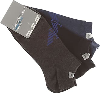 Mens Underwear On Sale, 3 Pack, Dark Ash Grey Melange, Cotton, 2017, L (45-46) UK 10-11 Emporio Armani