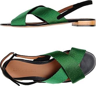 Sandals for Women On Sale, Black, Patent, 2017, 3.5 4.5 7.5 Emporio Armani