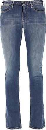 Jeans On Sale, Dark Denim Blue, Cotton, 2017, 30 31 32 34 36 Emporio Armani
