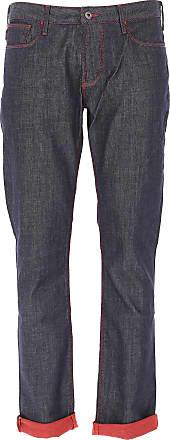 Vaqueros de Hombre, Pantalones Vaqueros Baratos en Rebajas, Cotton Made In Africa, Azul Vaquero, Algodon, 2017, 47 Emporio Armani