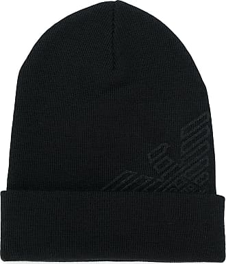 Hat for Women On Sale, Black, Acrylic, 2017, Universal size Emporio Armani