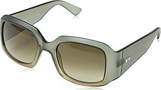 Emporio Armani EA 9894/S Wrap Sonnenbrille, Light Blue & Grey Frame/Grey Lens