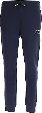 Pantalones de Hombre, Pantalón Baratos en Rebajas, Indigo, Algodon, 2017, L S XL XXL Emporio Armani