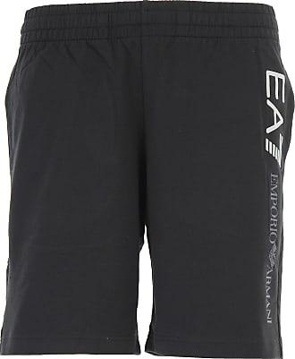 Pantalones de Hombre, Pantalón Baratos en Rebajas, Negro, Algodon, 2017, L S XL Emporio Armani