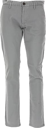 Pants for Men On Sale, Natural, linen, 2017, L XL XXL Emporio Armani