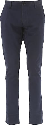 Vaqueros de Hombre, Pantalones Vaqueros Baratos en Rebajas Outlet, Vaquero Índigo, Algodon, 2017, 45 Emporio Armani
