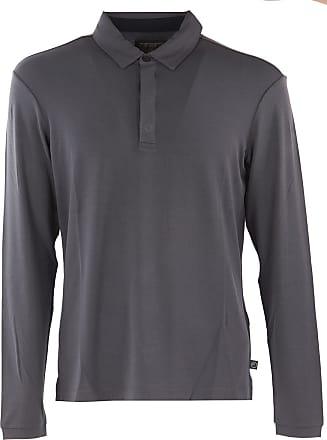 Polo Shirt for Men On Sale, Dark Grey, Cotton, 2017, M XXL XXXL Emporio Armani