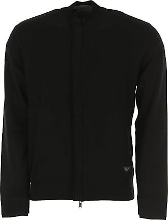 Sweater for Men Jumper On Sale, Blue, linen, 2017, L M S XXL Emporio Armani