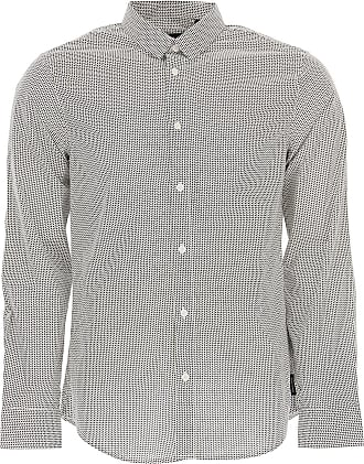 Shirt for Men On Sale, Chambray, Cotton, 2017, M - IT 48 XL - IT 52 Emporio Armani