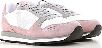 Sneaker für Damen, Tennisschuh, Turnschuh, Dunkel- Rosa, Wildleder, 2017, 36 37 38 40 41 Emporio Armani
