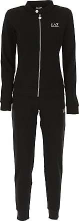 Womens Sportswear for Gym Workouts and Running On Sale, Black, Cotton, 2017, 10 Emporio Armani