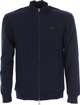 Camiseta de Hombre Baratos en Rebajas, Azul Mezcla, Algodon, 2017, L M XL XXL Emporio Armani