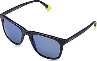 Emporio Armani Herren 0EA4062 54521X Sonnenbrille, Blau (Bluette/Gunmetal/Darkblueetopmirrorsilver), 49