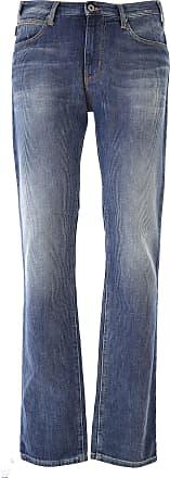 Jeans On Sale in Outlet, J 20, Denim Medium Blue, Cotton, 2017, 32 Emporio Armani