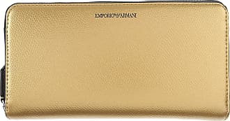 Wallet for Women On Sale, Gold, Leather, 2017, One size Emporio Armani