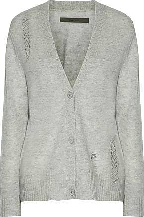 Enza Costa Woman Distressed Wool And Cashmere-blend Sweater Ivory Size L Enza Costa Finishline Cheap Sale 2018 New 8E6ap