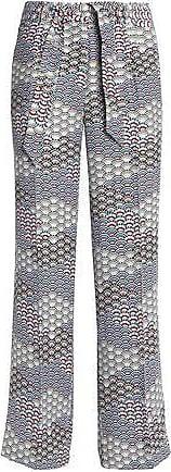Équipement Femme Pantalon Large De La Jambe Plissée En Soie Imprimée Équipement De Taille Multicolore sw3xDlL