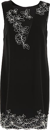Dress for Women, Evening Cocktail Party On Sale, Black, polyester, 2017, 12 14 Ermanno Scervino