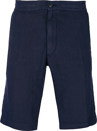 Shorts for Men On Sale, navy, linen, 2017, L S Ermenegildo Zegna