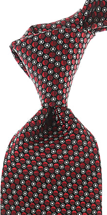 Ties On Sale, Red Melange, Silk, 2017, one size Ermenegildo Zegna
