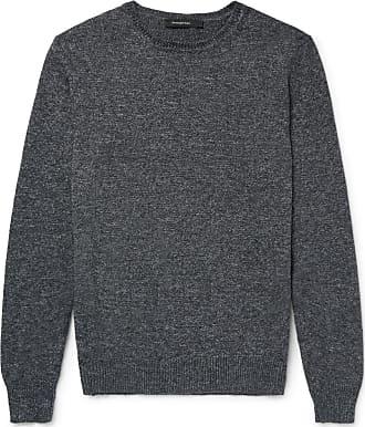 Sweater for Men Jumper On Sale, Midnight Blue, Wool, 2017, L S XL XS Ermenegildo Zegna