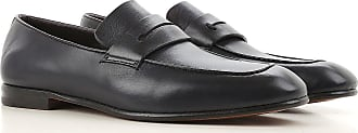 Loafers for Men On Sale, Blue Ink, Leather, 2017, 10 5.5 6 6.5 7 7.5 8 8.5 9 Ermenegildo Zegna