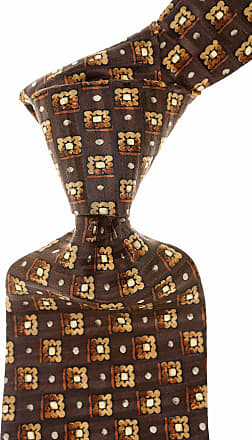 Ties On Sale in Outlet, Dark Chocolate Brown, Silk, 2017, one size Etro