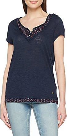 038ee1k002, T-Shirt Femme, Bleu (Navy 400), SmallEsprit