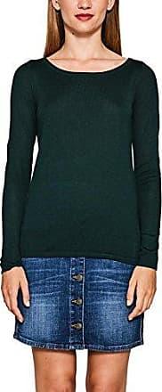Esprit 097ee1i004, Suéter para Mujer, Multicolor (Dark Teal Green 375), Large