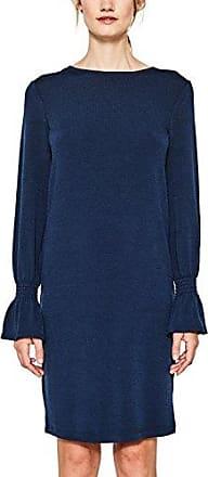 Esprit 097eo1e004, Vestido para Mujer, Azul (Navy 400), 36