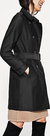 2-reihiger Trench aus Baumwoll-Mix für Damen Black Esprit