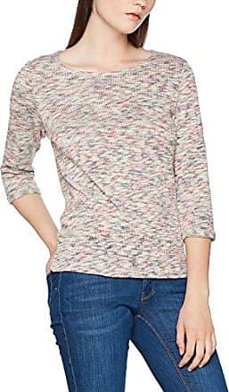 077ee1k006, T-Shirt Femme, Rose (Dark Old Pink 675), LargeEsprit