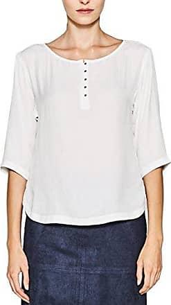 Esprit 028ee1f025, Blusa para Mujer, Multicolor (Off White 110), 36 (Talla del Fabricante: 34)