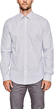 018ee2f013, Chemise Casual Homme, Blanc (White 100), X-SmallEsprit