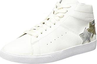 Aisha Bootie, Sneakers Hautes Femme, Blanc (White), 42 EUEsprit