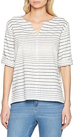 Esprit Mit Schönem Muster, Blusa para Mujer, Mehrfarbig (Off White 110), 38