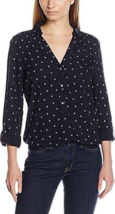 Esprit 126ee1f026, Blusa para Mujer, Multicolor (Navy 400), 36 (Talla Fabricante: 34)